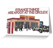 Strange Things are Afoot Greeting Card