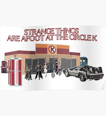 Strange Things are Afoot Poster