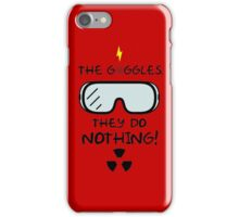 The Goggles iPhone Case/Skin
