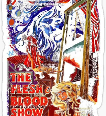 flesh and blood Sticker