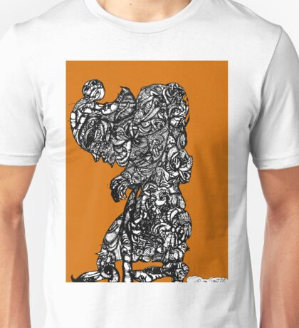 Lady With Cane, Fall Afternoon Unisex T-Shirt