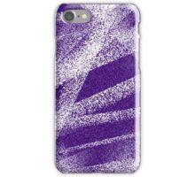 Purple Spray iPhone Case/Skin
