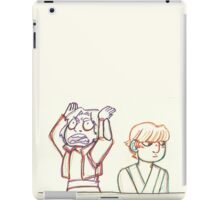 Ezra & Luke iPad Case/Skin