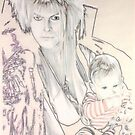 Jareth and Toby by Peter Brandt
