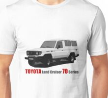Toyota Land Cruiser 70 Series Troopy Unisex T-Shirt