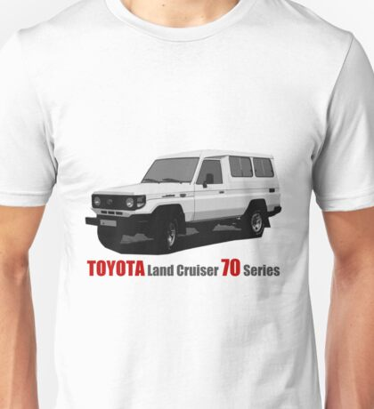 Toyota Land Cruiser 70 Series Troopy (machito) Unisex T-Shirt