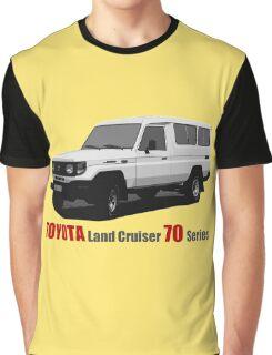 Toyota Land Cruiser 70 Series Troopy (machito) Graphic T-Shirt