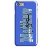 Matthew with Blue Angels iPhone Case/Skin