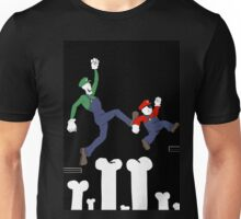 Undertale and Mario Unisex T-Shirt