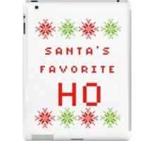 Santa's Favorite HO iPad Case/Skin