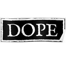 Dope 3 - White Poster