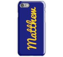 Matthew iPhone Case/Skin