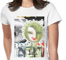green light Womens Fitted T-Shirt