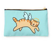 Orange Tabby Cat Angel Studio Pouch