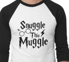Snuggle This Muggle Men's Baseball ¾ T-Shirt