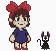 Kiki and Jiji Pixel Art Kids Clothes