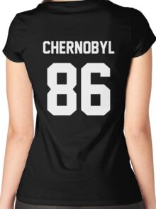 CHERNOBYL '86 Women's Fitted Scoop T-Shirt