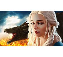 FIRE: Mother of Dragons Photographic Print