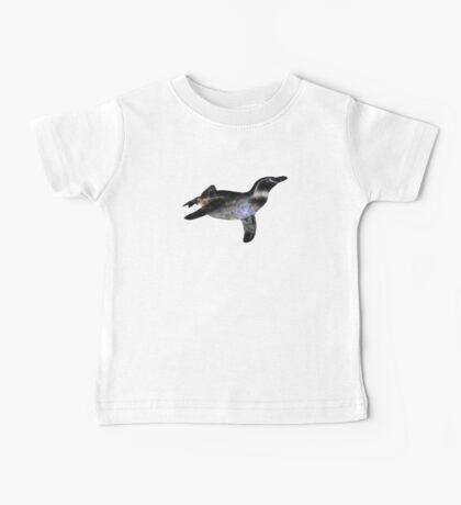 Galaxy Penguin Baby Tee