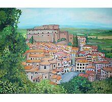 Soriano nel Cimino, Italy Photographic Print