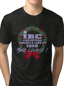 IBC Christmas Line Up Tri-blend T-Shirt