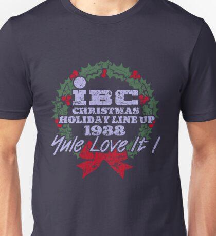 IBC Christmas Line Up Unisex T-Shirt