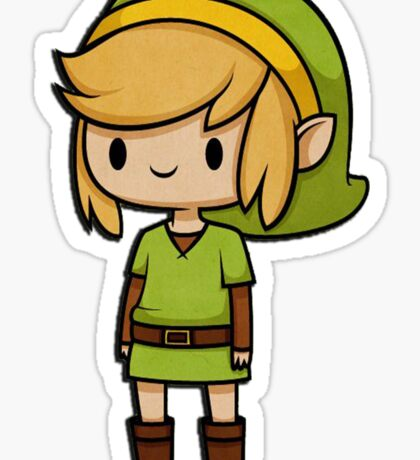 Cartoon Link Sticker