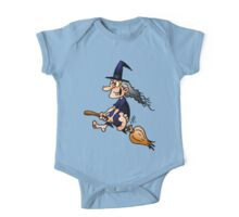 Witch on a broom One Piece - Short Sleeve