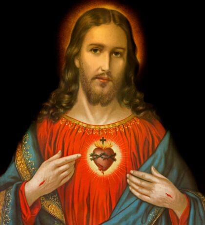 Sacred Heart c1899 Germany Sticker