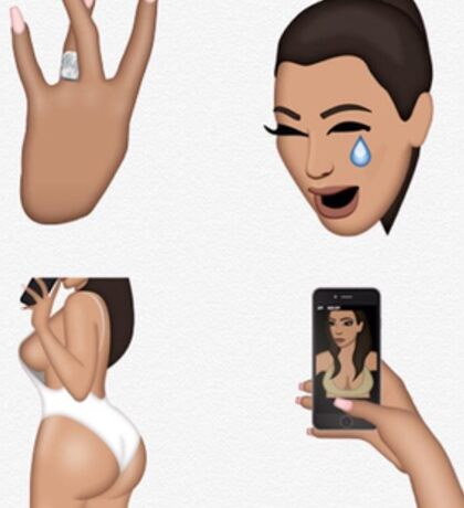 Kimoji - Rings Sticker