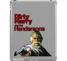 Dirty Harry and the Hendersons iPad Case/Skin