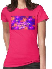 Flower Fields Womens Fitted T-Shirt