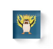 King Penguin - Royal Fury Acrylic Block
