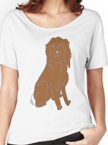 Alfie the spaniel Women's Relaxed Fit T-Shirt