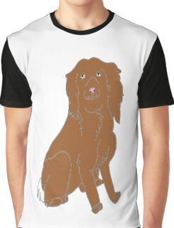 Alfie the spaniel Graphic T-Shirt