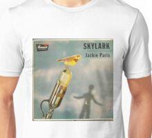 Skylark, bird, microphone, 50's lp Unisex T-Shirt