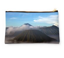 Mt. Bromo Rises From the Mist Studio Pouch