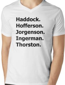 How to Train Your Dragon Names  Mens V-Neck T-Shirt