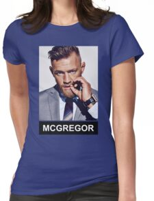 Conor McGregor - Notorious Womens Fitted T-Shirt