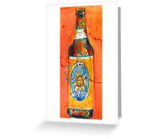 Oberon Beer Art Print Greeting Card