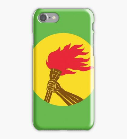 Flag of Zaire (1971 - 1997) iPhone Case/Skin