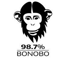 Bonobo 98.7% Evolution Shirt Photographic Print