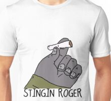 The Big Lez Show - Stingin Roger Unisex T-Shirt