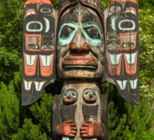 Chief Johnson Totem Pole, Ketchikan, Alaska Sticker