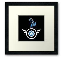Marvels: Captain America  Framed Print