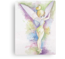 Tie Dye Tinkerbell Canvas Print