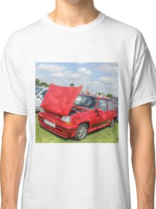 Red Renault GT Turbo Classic T-Shirt
