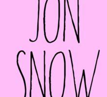 game of thrones got jon snow  Sticker