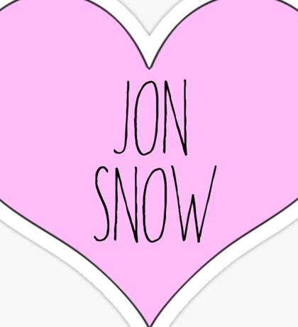 game of thrones got jon snow  Sticker