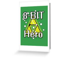 8-Bit Hero Greeting Card
